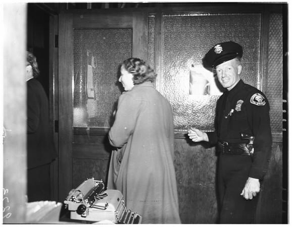 Margaret Carnes, 1951
