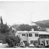 Fire at 3700 Longridge Avenue, Sherman Oaks, 1951