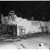 Fire in Bar at 14642 Ventura Boulevard, 1951.