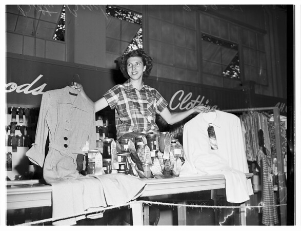 Pomona Fair (Best Cook and Bottle Washer Junior Division), 1951