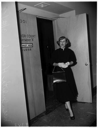 Howard divorce, 1952.