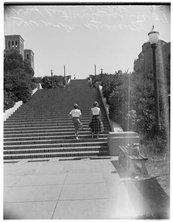 University of California Los Angeles Orientation Day, 1951