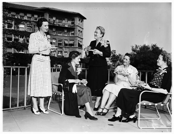 Cub Activity (Delta Kappa Gamma Sorority Tea) (Huntington Hotel), 1951