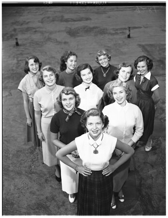 Miss 1961 (Contest for high school girls), 1951
