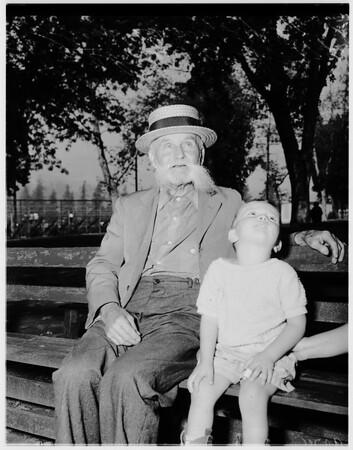 Labor Day picnic... Pasadena, 1951
