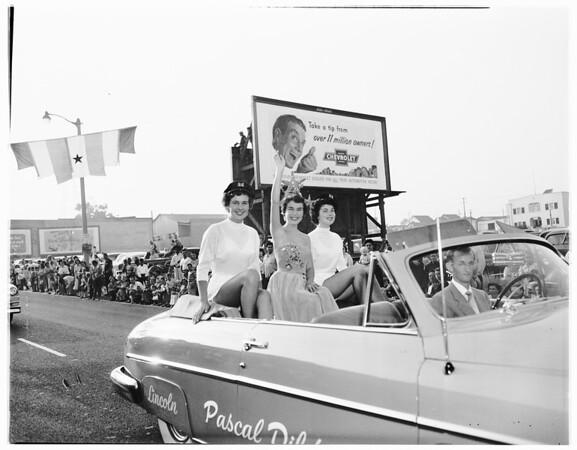 Fisherman's Fiesta celebration...San Pedro, 1951