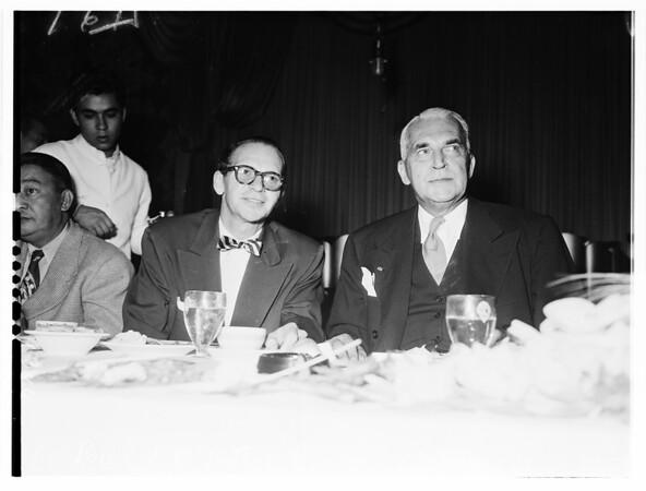 Biltmore Hotel luncheon, 1951