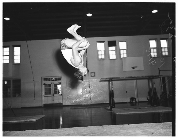 Roosevelt High School gymnasts, 1948