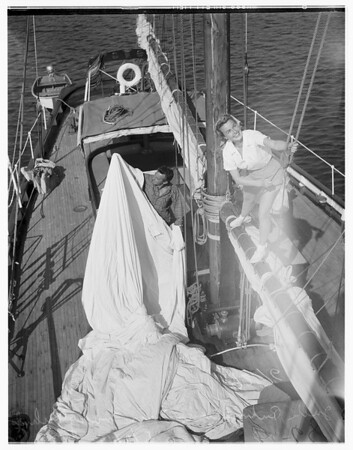 Ensenada yacht race, 1949