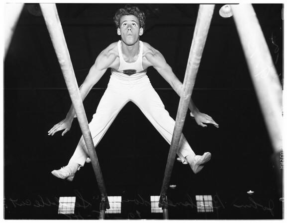 Los Angeles City College gymnastics, 1948