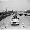 Freeway...Silverlake Boulevard to Western Avenue open, 1951