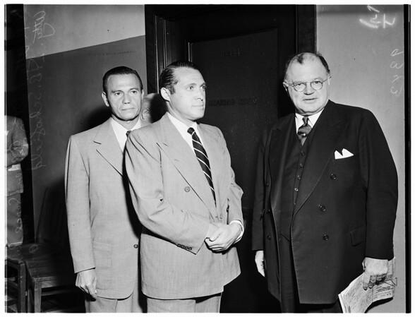 Deportation Hearing, 1951