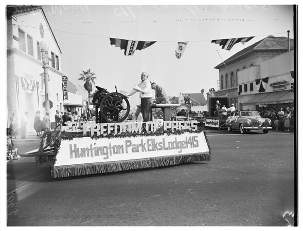Elks parade, Santa Monica, 1951