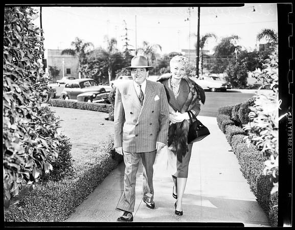 Lili St. Cyr in Court (Beverly Hills Justice Court), 1951