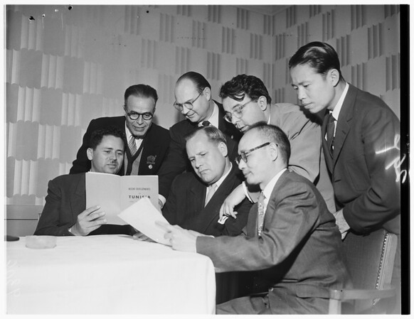 American Federation of Labor Foreign Delegates, 1951