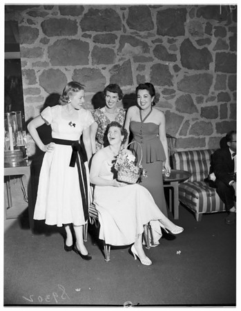 Our Lady of Lourdes Guild Party, 1951