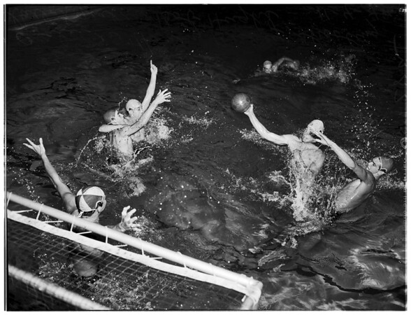 Water Polo at El Segundo High School, 1948
