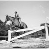 Equestrians, Flintridge Riding Club, Pasadena, 1948