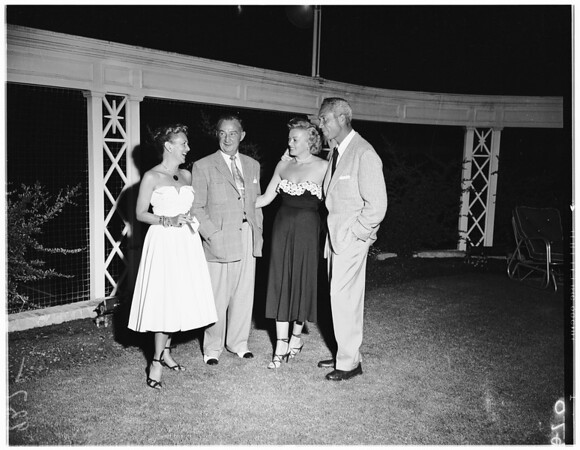 B. B. Robinson party, 1951