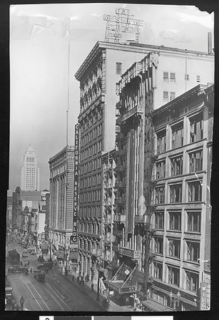 California Reserve Building, downtown Los Angeles, 1929