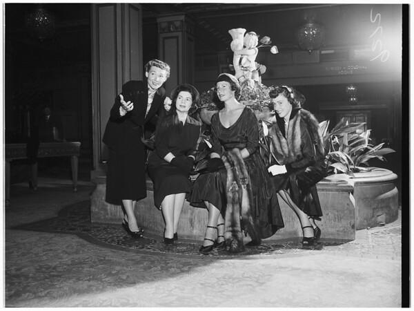 Saint Joseph's Hospital Guild, 1951