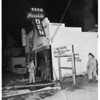 Fire in Bar at 14642 Ventura Boulevard, 1951.