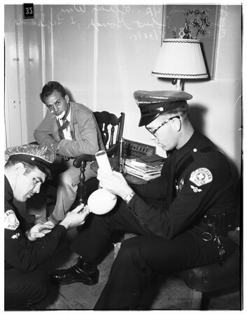 Booked drunk driving felony, 1951