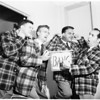 Barber Shop Quartet parade, 1951