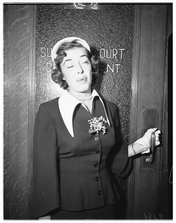 Money suit, 1951