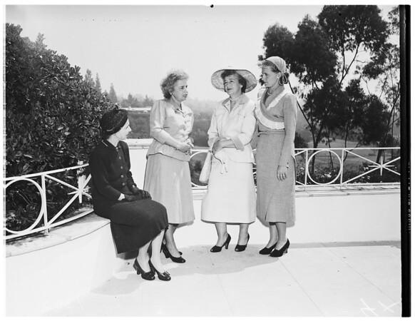 Society...Women for Cancer Fund, 10801 Ambazac Way, Bel Air, 1951.