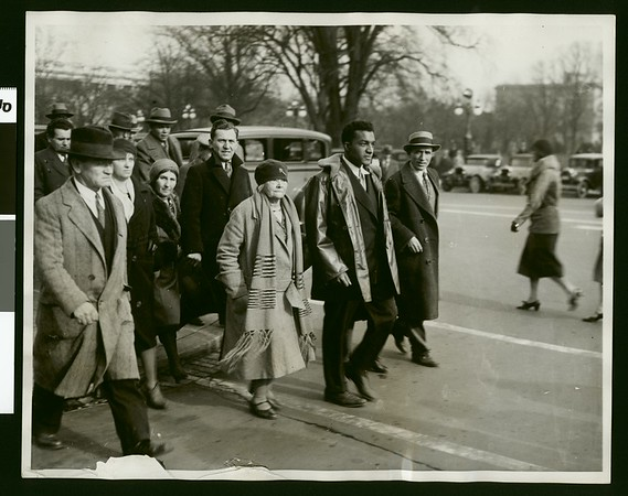 National Conventions for Protection of Foreign Born march, Washington, D.C., 1930