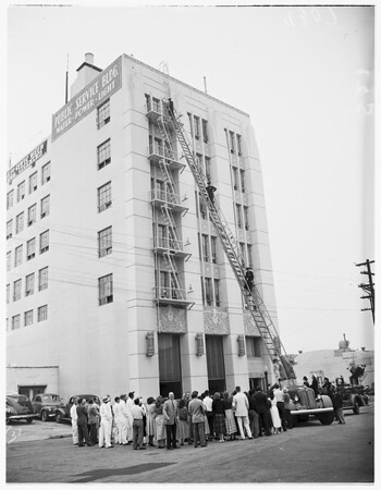 Civic Week, Glendale Public Service Department Rescue, 1951