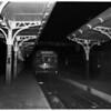 Last Pacific Electric Train on Monrovia-Glendora run, 1951.