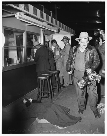 Phantom shooting...Norwalk, 1951
