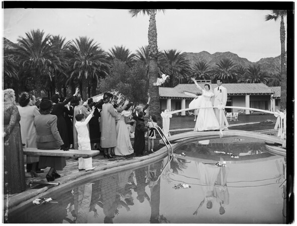 Sniff-Okerlund Wedding, 1948.