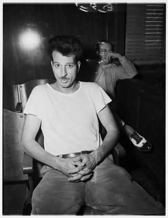 Capizzi murder preliminary, 1951