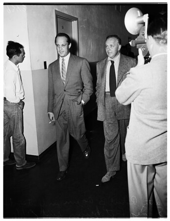 Sid Luft in Court, 1951