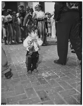 Los Angeles birthday celebration, 1951