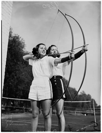 Pomona College girls sports, 1948
