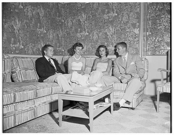 Saturday night dance...Bell Air Bay Club, 1951.