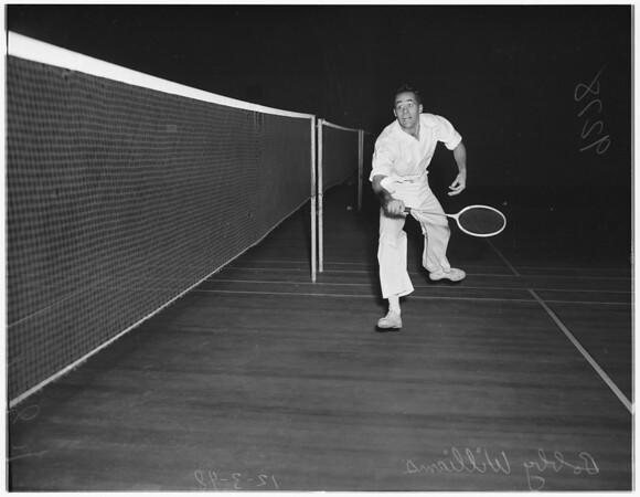 Manhattan badminton, 1948