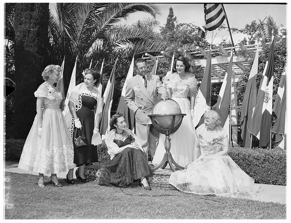 Pan American League Installation, 1951