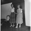Models at Blood Bank located at Pasadena Elk's Club, 1951
