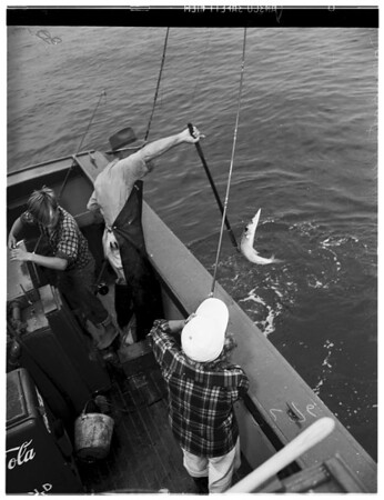 Newport fishing, 1949