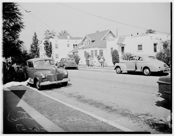 De Mesa murder, 1951