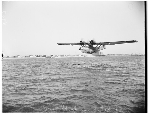 Aviation -- Wet Ditching Drill, 1951