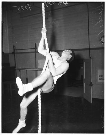 Los Angeles City College gymnasts, 1948