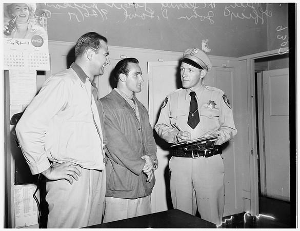 Stolen auto, 1951