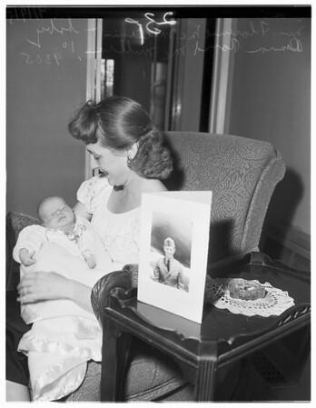 Korea veteran baby, 1951