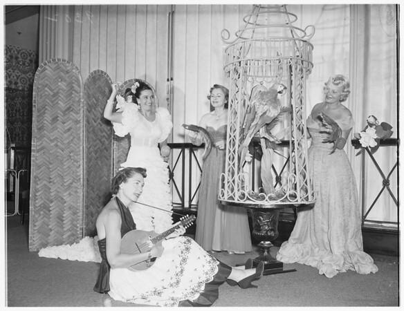 Melody Ball of Las Angelinas...Society, 1951